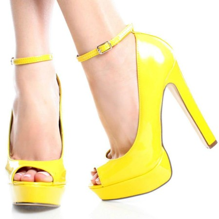 Sarah-02-Yellow-Patent-Womens-Fashion